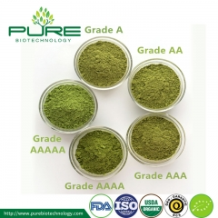 Different Grade Matcha Green Tea Powder